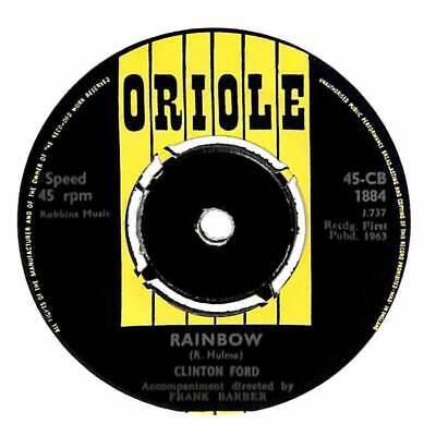 "Clinton Ford - Rainbow - 7"" Record Single"