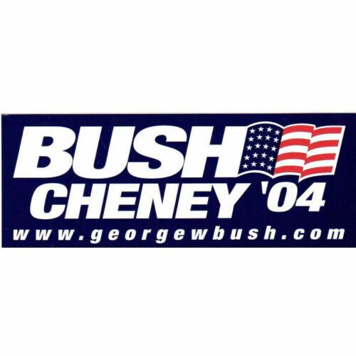 George W Bush Dick Cheney President 2004 Bumper Sticker