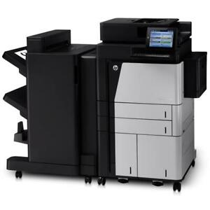 HP Color LaserJet Enterprise flow MFP M880z 11x17 All In One Color Printer,  Print,Copy,Scan & Fax Up to 45 ppm - 1200 d