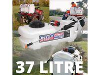Sealey SS37 Spot Sprayer 37ltr ATV Quad Weed killer, De-icer Spraying Fertiliser