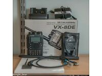 Yaesu VX8 Transceiver with GPS Microphone and Extras