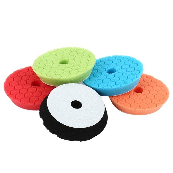 """BUFFER PADS NEW 7/"""" WOOL FOR COMPOUNDING AND POLISHING 3 EA."""