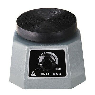"JINTAI R&D Dental Laboratory Equipment Vibrator Oscillator 4"" Round for Dentist"