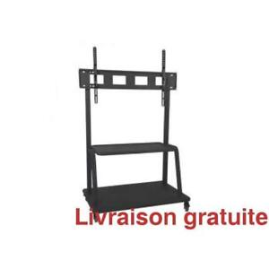 Support a TV sur roulettes / Floorstand Bracket on wheels