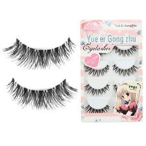 Big sale! 5 Pair/Lot Crisscross False Eyelashes Lashes Voluminous HOT eye lashes