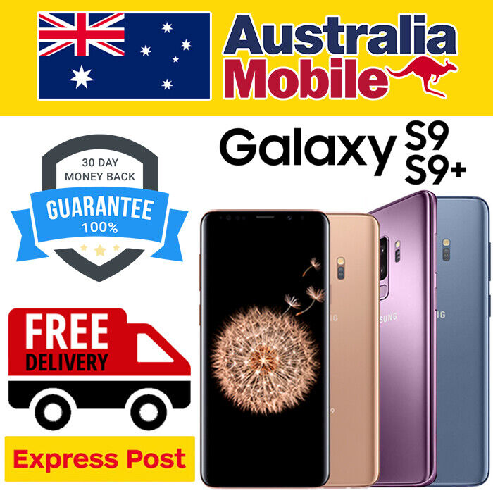 Android Phone - SAMSUNG GALAXY S9 S9 PLUS + 4G/ LTE AS EXCELLENT 64/256GB  UNLOCKED SMARTPHONE