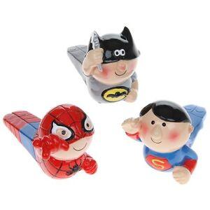 Novelty doorstop superhero superman spiderman batman design door stop wedge ebay - Novelty doorstop ...
