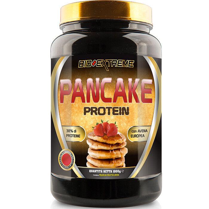 Bio Extreme Pancake 50% Proteine con Caseina Istantanea NO Glutine 1000g Nuovo!!