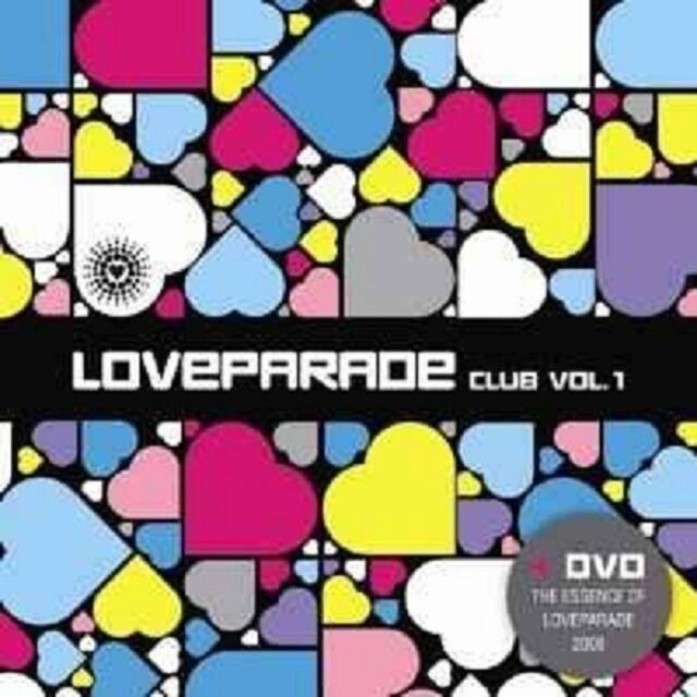 LOVEPARADE CLUB VOL.1 DVD+CD DISCO/DANCE NEU