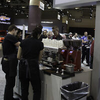 Temporary Barista Job at Autoshow Pop-up Cafe