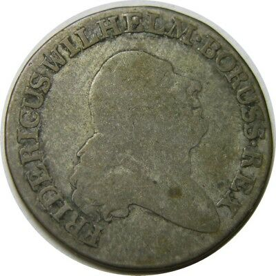 elf Germany Prussia South Prussia Poland 4 Groschen 1797 A