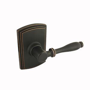 Design italian collection oil rubbed bronze dummy door lever knob