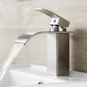 Ultra Slim Basin and Sink Waterfall Faucet on Sale!!