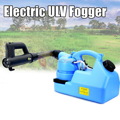 Electric ULV Fogger Sprayer Mosquito Killer Disinfection Insecticide Atomizer