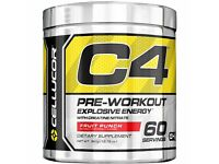 Cellucor C4 4th Generation Pre workout 390g 60 servings