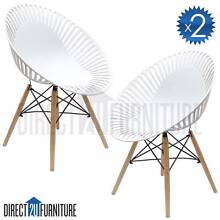 X2 Chairs - LYON Eames Eiffel Modern Designer Dining Room Chair Regents Park Auburn Area Preview