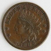 1863 Indian Head Token