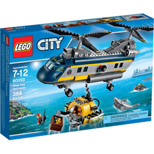 ** Lego Deep Sea Helicopter 60093 new sealed mint box