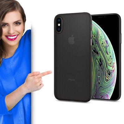 Spigen Air Skin für Apple iPhone XS Schutzhülle Case Cover Etui Schutz Handy
