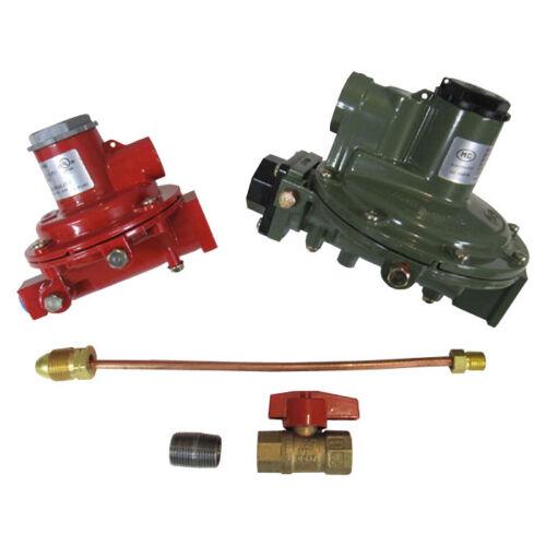 "Marshall Regulator Home Propane Supply Kit LP 1122H-AAJ 1622-BCF 1/2"" Outlet"