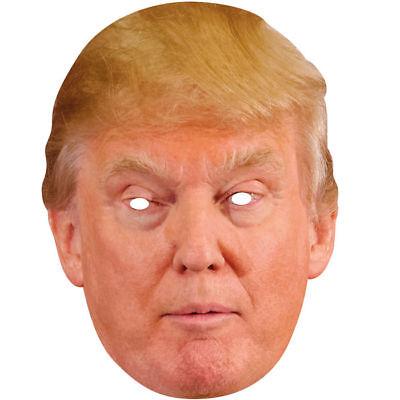 NEU Maske Donald Trump aus Pappe Trumpmaske
