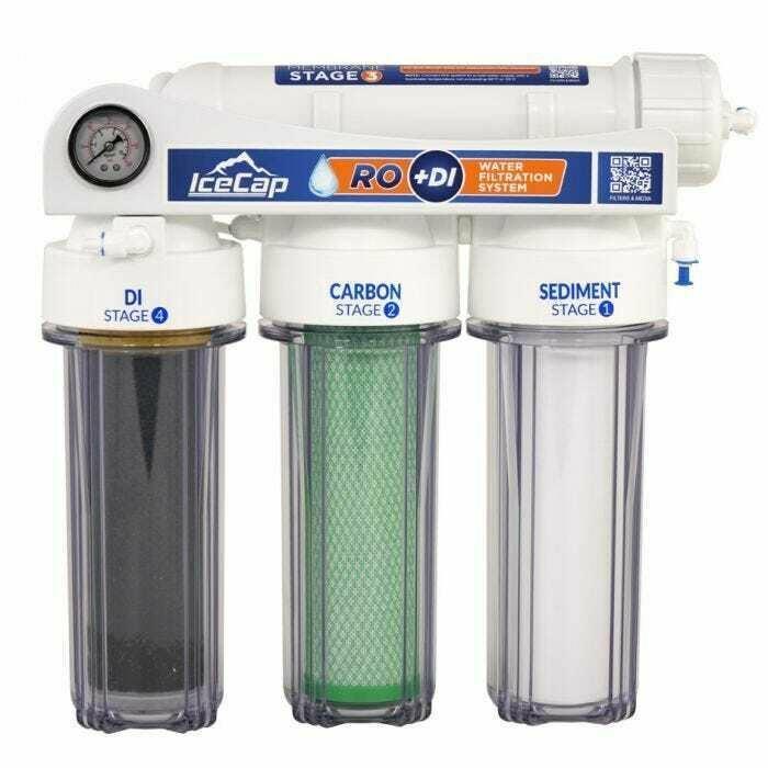 75 GPD RO/DI Aquarium Water Filtration System - IceCap