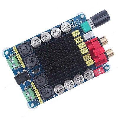 TDA7498 Class D 2X100W Dual Channel Audio Stereo Digital  Amplifier Board UK