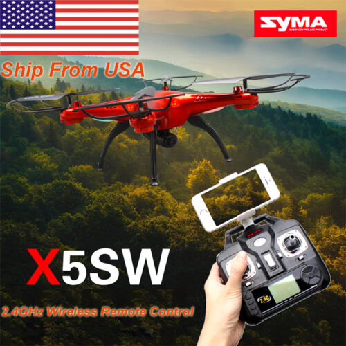 Syma X5SW Explorers-II 2.4Ghz 4CH RC Quadcopter WIFI FPV Drone With HD Camera