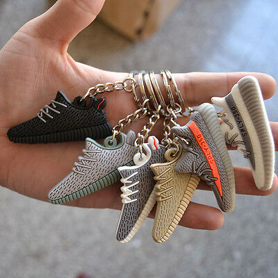Style Silicone Keychain Sneaker 3D  Key Chain Keys