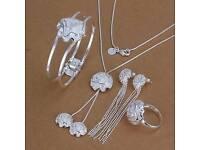 Stamped 925 jewellery set