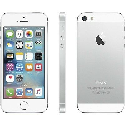 Apple iPhone 5S (A1533) Verizon Factory Unlocked Smartphone 32GB Silver USA