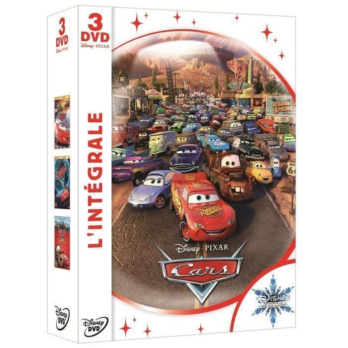 Intégrale CARS 1 + CARS 2  + Cars toon Martin se la raconte