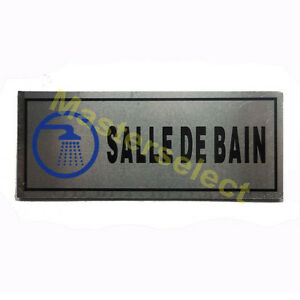 petit panneau signaletique plaque pour porte adhesif salle. Black Bedroom Furniture Sets. Home Design Ideas