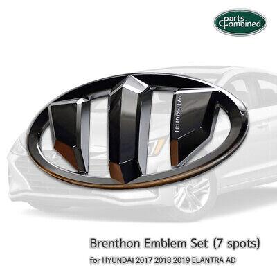 Brenthon Emblem Set (7 spots)  for HYUNDAI 2017 2018 2019 ELANTRA / AD