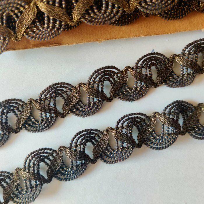 Vintage Gold lace trim, Vestment