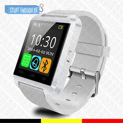 Originele U80 Smartwatch Montre Connecté Bluetooth Internet Android White comprar usado  Enviando para Brazil