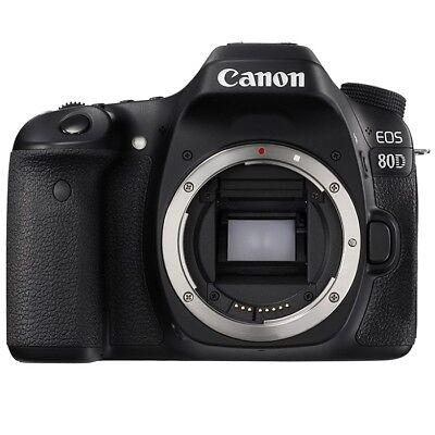 Canon EOS 80D Gehäuse DSLR Kamera (Kit-Box) NEU