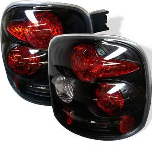 Chevy/GMC 99-04 Silverado/Sierra Black Stepside Model Rear Tail Brake Lights