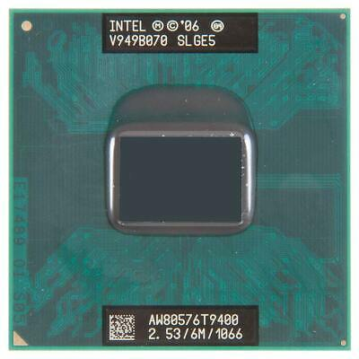 Processeur Intel Core 2 Duo Mobile T9400 2.53 Ghz SLGE5 CPU