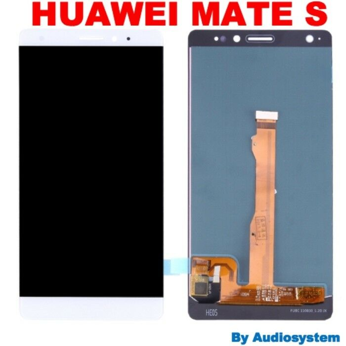 DISPLAY OLED ORIGINALE TOUCH SCREEN HUAWEI MATE S CRR-UL00 CRR-L09 BIANCO VETRO