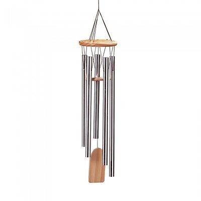 "Wind Chimes RESONANT Windchime Yard Lawn Garden Decor 24"" Large"