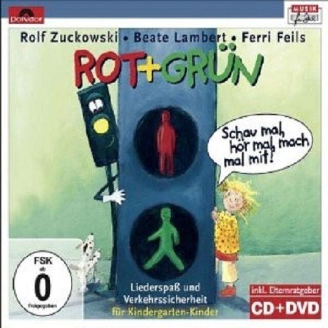 ROLF/LAMBERT,BEATE/FEILS,FERRI ZUCKOWSKI - ROT+GRÜN-SCHAU MAL...CD + DVD NEU