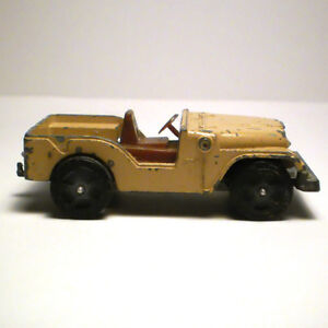 CORGI JUNIORS WILLYS JEEP WHIZZWHEELS MADE IN GREAT BRITAIN