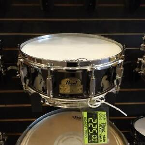"""Pearl Signature CHAD SMITH Snare Drum-caisse claire 14""""x5"""" - used-usagée"""