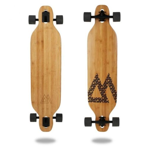 Magneto Longboard - Bamboo Drop Through Carver Board