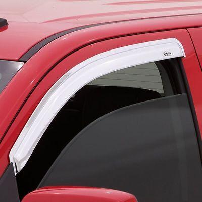 Deflector 4 pc Auto Ventshade 684095 TM Side Window Vent-Chrome Ventvisor