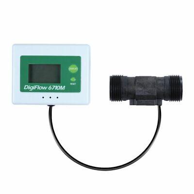 Digital Programmable 6710M-66 Flow Meter 2.4-60.0 Litres/Min 3/4