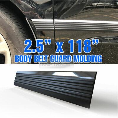 Car Body Side Molding Door molding Black Chrome 118in For Hyundai 19-20 Palisade