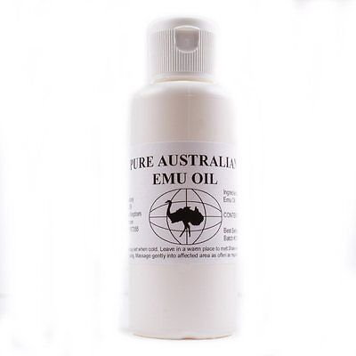 100% Pure Australian Emu Oil 60ml. Perfect for skin/hair/muscles/joints