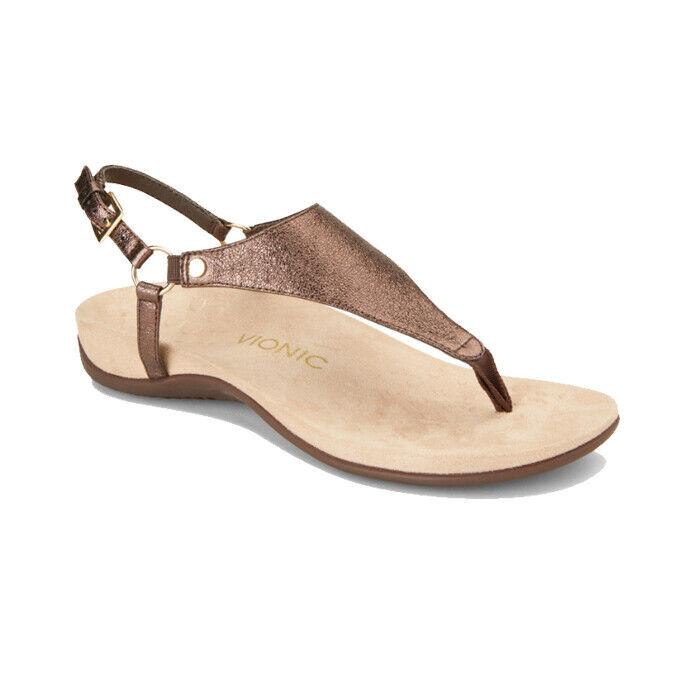 Vionic Kirra Metallic Women's Size 11 $100 Gladiator Sandal